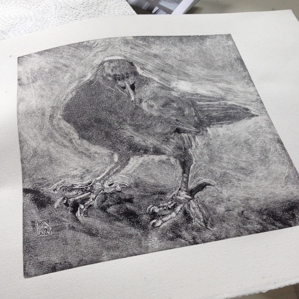 monotype-crow
