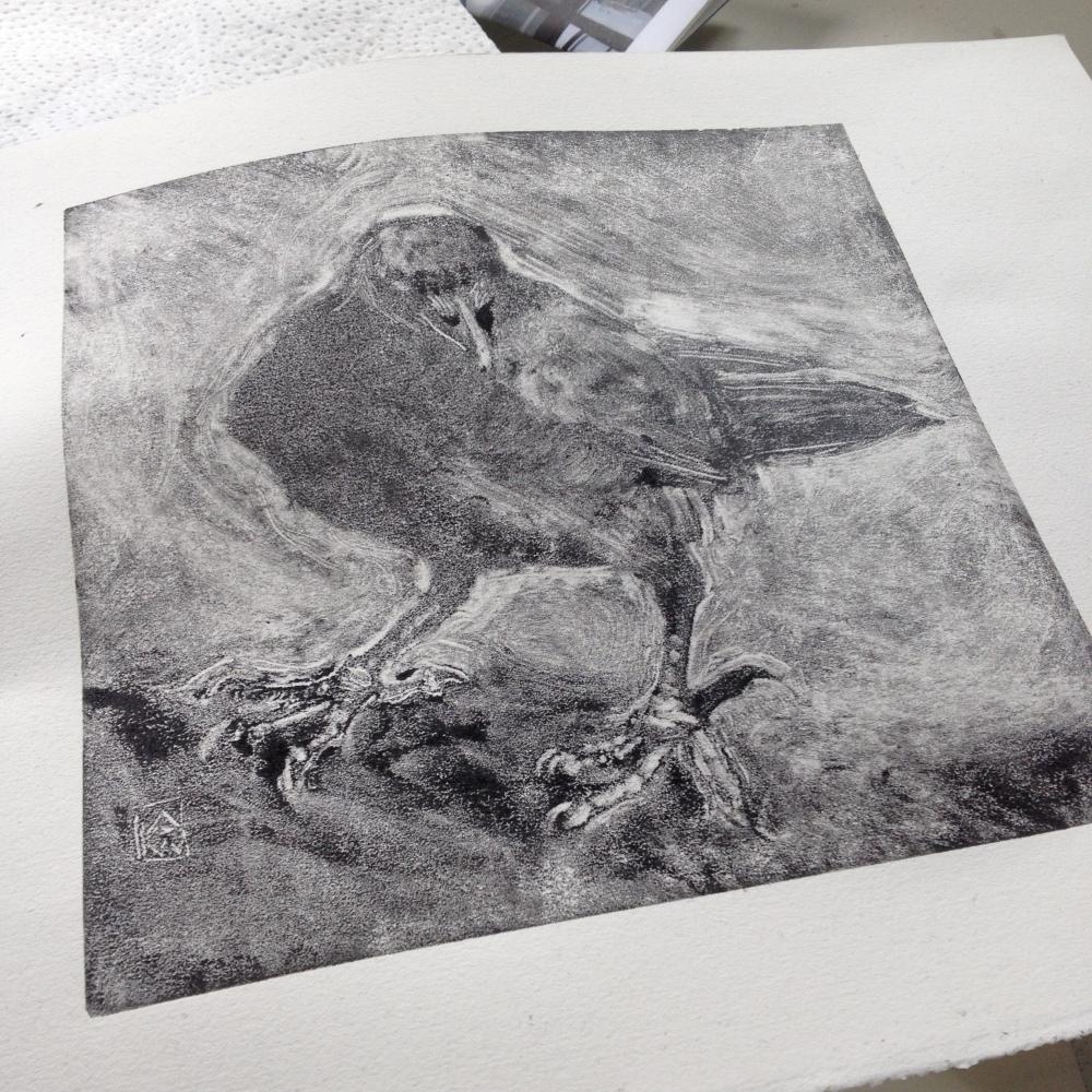 monotype-crow