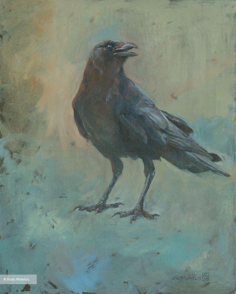 Painting_birds_JuvenileCrow_1024_2